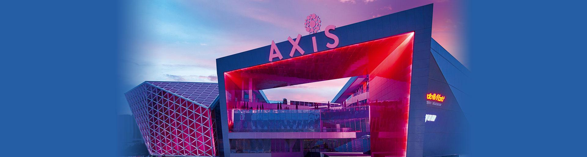 Sur Yapı Axis Kağıthane AVM